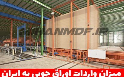 میزان واردات چوب به ایران